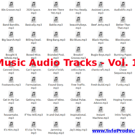 Music Audio Tracks – Volumen 1