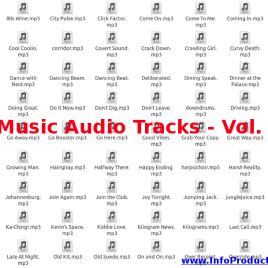 Music Audio Tracks – Volumen 2